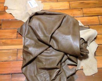 BR271.  Mink Leather Cowhide