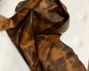 Whiskey and Brown Camouflage Lather Lambskins,  OSM402