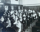 PS 182 Class in Bronx, NY Vintage Photo
