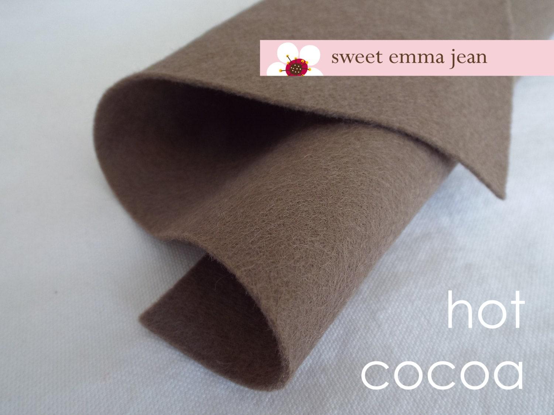 Yard 1 feutre laine coupe - - coupe chocolat chaud - feutre de laine mélangée 33646c