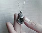 Digitalis Flower Silver Pendant / AMARANTA Collection by Gemagenta / foxglove