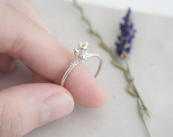 Floweret Silver Ring / AMARANTA Collection