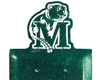 Minot State Beavers Light Switch Double Plate Cover