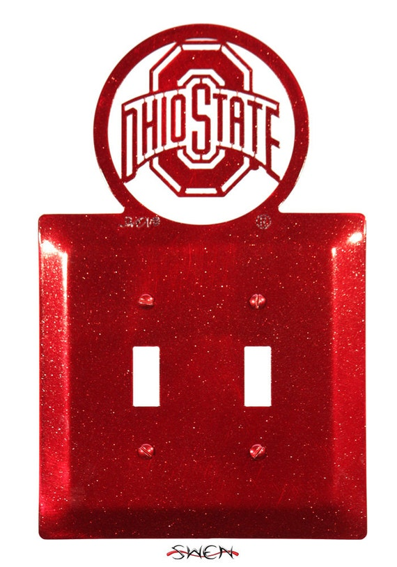 SWEN Products OHIO STATE BUCKEYES Metal Business Card Holder