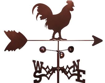 Hand Made Rooster Chicken Weathervane NEW