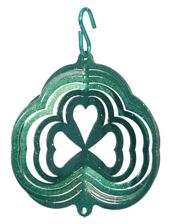 SWEN Products NEBRASKA HUSKERS GO BIG RED Tini Swirly Christmas Tree Ornament