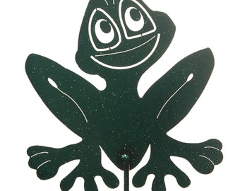 Hand Made Frog Yard Art *NEW*