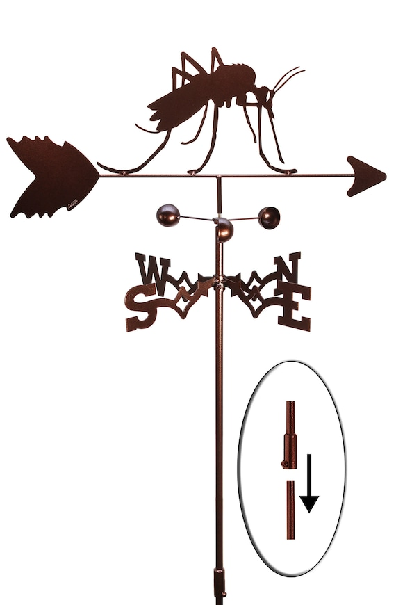 SWEN Products MOSQUITO INSECT Steel Weathervane