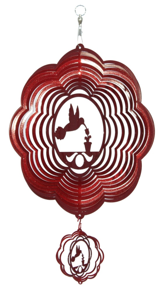 SWEN Products FLAMINGO Metal Wind Spinner
