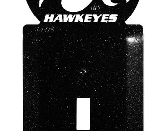 Iowa Hawkeyes Light Switch Plate Cover