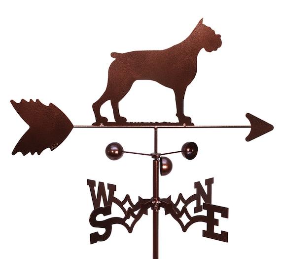 SWEN Products BELGIAN SHEEPDOG Dog Circle Swirly Metal Wind Spinner