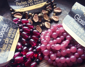 3 Packs of Jewelry Crafting Beads