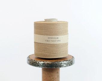 SALE Paperyarn - Finest Natural / Kraft Paper Yarn - 380 yards (350m) - DIY, knit, crochet, jewelry making - Fine Paper String