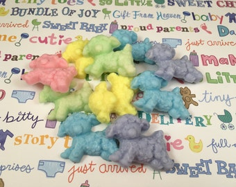 Lamb Soap | Set of 10 Little Lambs | Baby Shower Soap Favor | Baby Shower Favor | Gift for Baby | Sample Soaps | Sheep Soap
