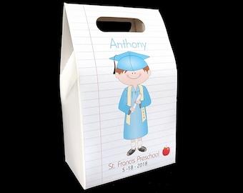 Pre-K Graduation party favors (set of 6 boxes) graduate gift ideas kindergarten or preschool graduation kinder graduation class of 2018
