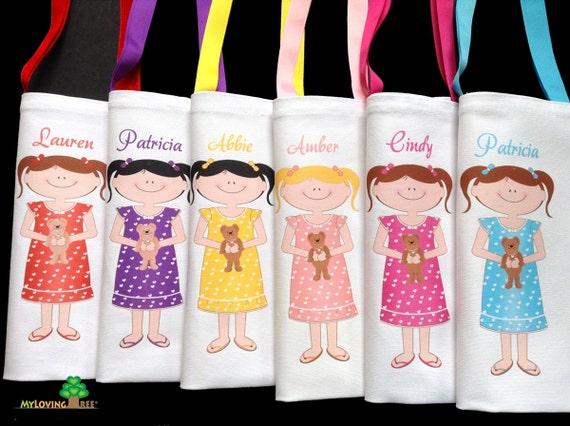 Fourre Tout De Cadeau Personnalisé Soirée Pyjama Party Soirée Pyjama Favorise Soirée Pyjama Sur Partie Des Faveurs D Anniversaire Fille Parti