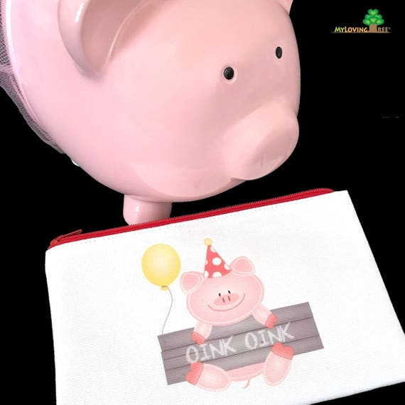 Little Piggy Birthday Party Favors Pigout Party Gift Ideas Miss Piggy First Birthday Oink Oink Three Little Pigs Party Pigs Pink Piggy