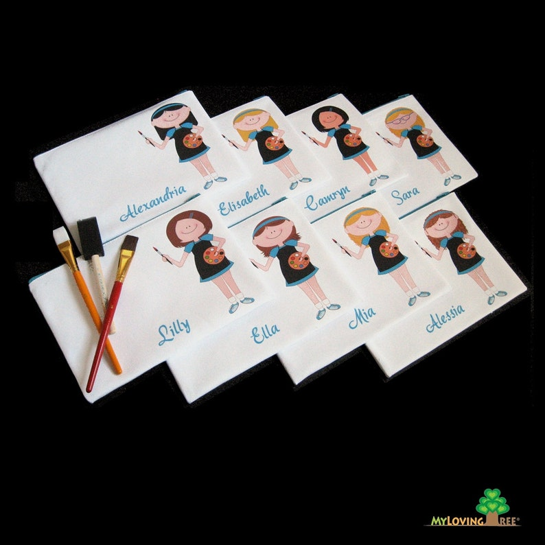 Painting Birthday Party Favors Art Favours