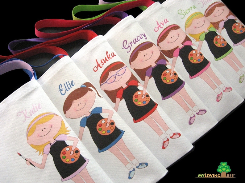 Painting Birthday Party Favors Art Favours Thank You Gift Artists Ideas Drawing Class
