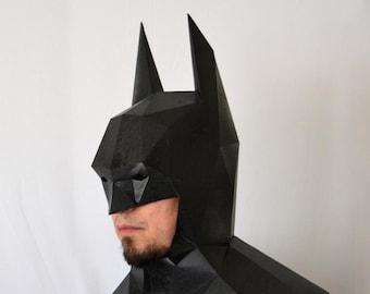 Superhero Mask Pattern - Make Your Own Comic Book Superhero Mask with just Paper and Glue! Paper Mask | Superhero Costume | Comics