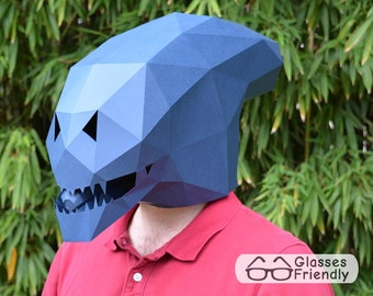 Alien Xenomorph Mask - Become an Alien with just Paper and Glue! | Paper Mask | DIY Mask | Halloween Mask | Alien Mask