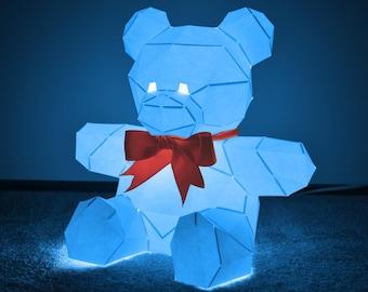 Teddy Bear Lamp You Can Build Yourself! | Light Up Teddy Bear | DIY Project