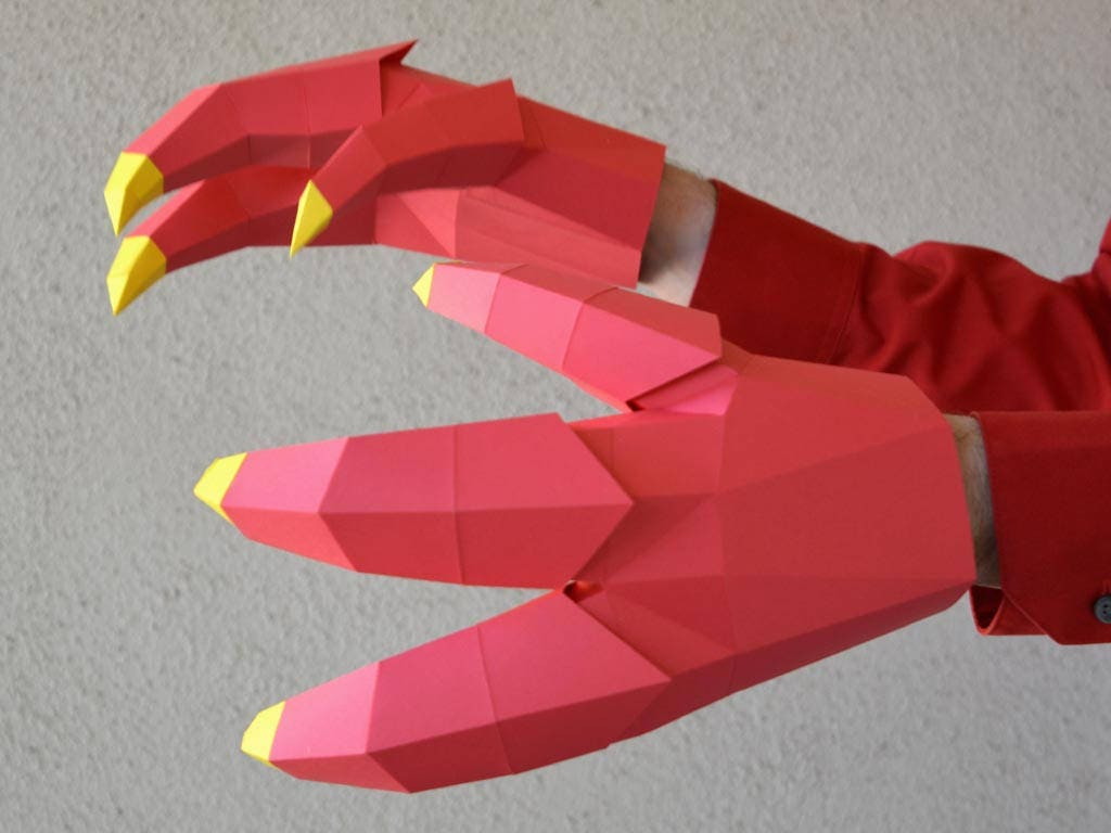 Dragon Claws Or Dinosaur Great Costume Accessory That