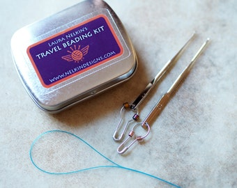 Travel Beading Kit for Knit and Crochet