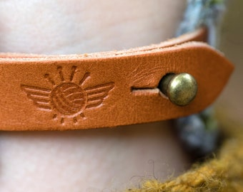 Leather Strap for Abaclet (1 Strap and Stud)