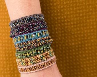 Mingle Cuff Kit (knit OR crochet)
