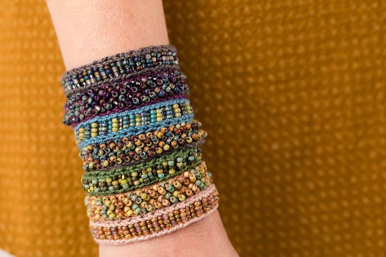 Mingle Cuff Kit knit OR crochet image 0