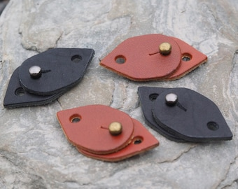 Leather Clasps for Kairos Cuff (Set of 2)