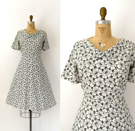 CLEARANCE SALE - Vintage 1950s Mode O Day Dress -