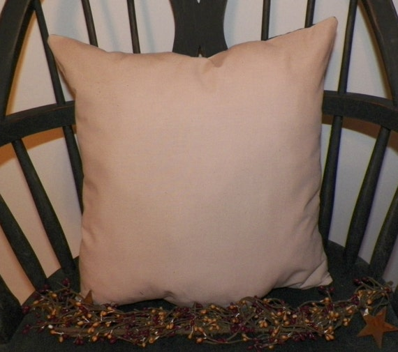 UNSTUFFED Primitive Pillow COVER Plain And Simple Country Home Etsy New Primitive Pillow Covers