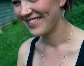 Sourwood Seedpod Necklace -- Botanical Jewelry -- Nature Cast