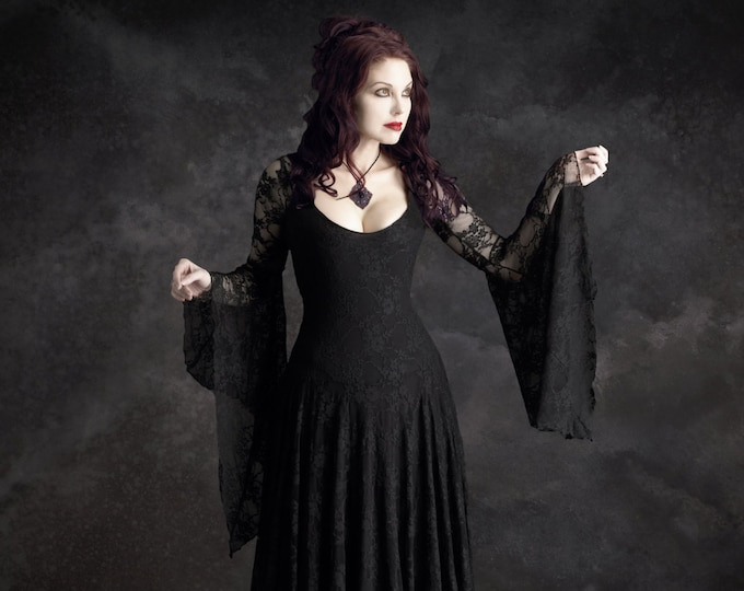 Annaleah Romantic Gothic Fairy Dress