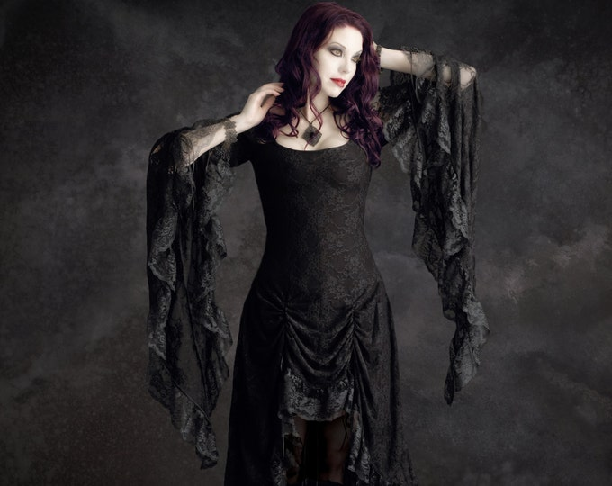 Cassiel Fairy Tale Romantic Gothic Vampire Dress