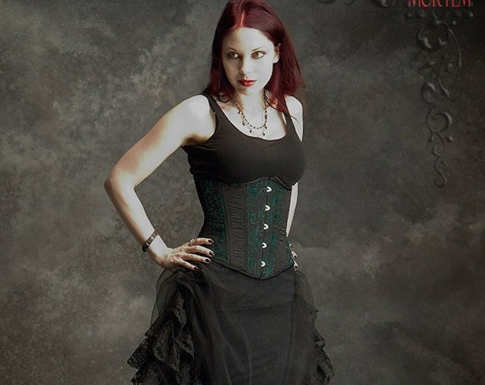 Felene Side Bustle Gothic Fairy Skirt