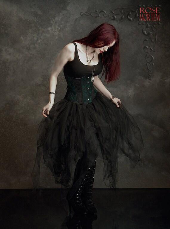 Handmade Gothic Harajuku Fashion W H Naoto Spiderweb Bag: Cosette Fairy Tale Gothic Skirt Handmade Romantic Gothic