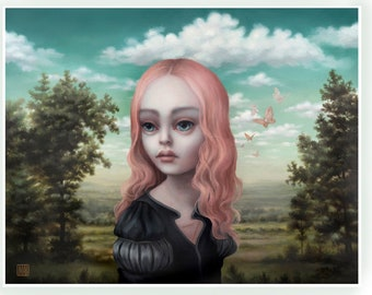 The Host - limited edition signed and numbered 11x14 pop surrealism Fine Art Print by Mab Graves