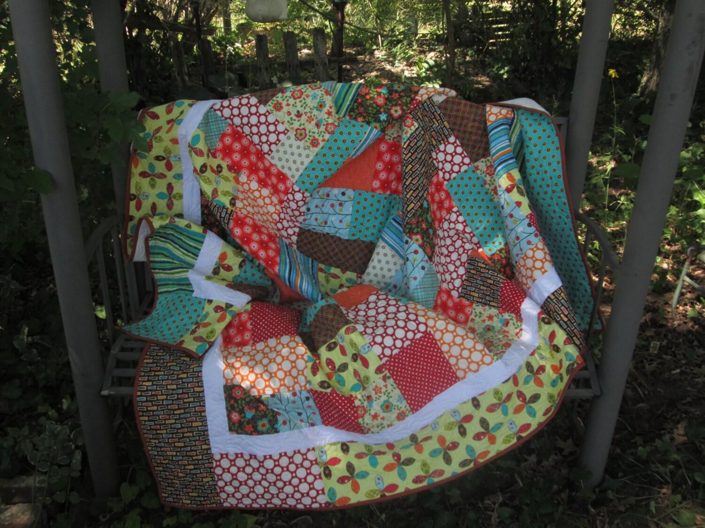 patchwork quilt double taille couette couvre lit matelass. Black Bedroom Furniture Sets. Home Design Ideas