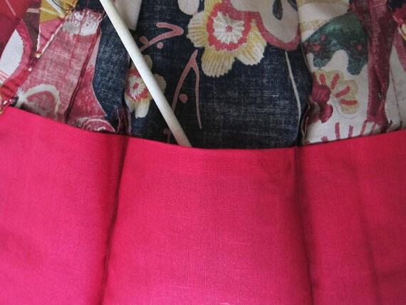 Exotic FLOWERS ! Japanese Handsewn Cotton Doll Kimono