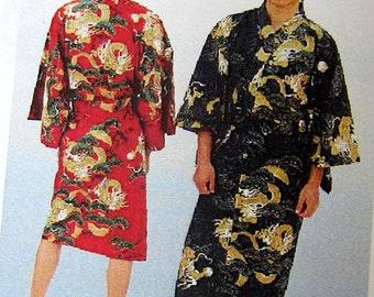 Japanese Man Kimono/Yugata  -Dragon In the Sky,515