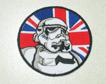 Free shipping STAR WARS STORMTROOPER Patch Badge e