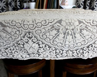 Lace Table Cloth | Etsy