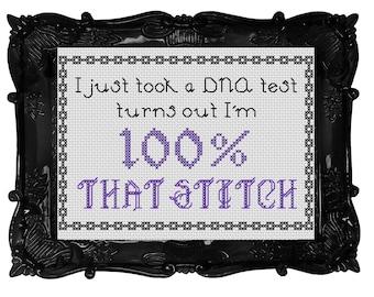 Lizzo 100% That Stitch Cross Stitch Pattern