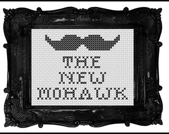 The New Mohawk Cross Stitch Pattern