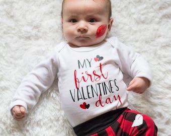 b33745c9c062 Baby Boy First Valentine outfit