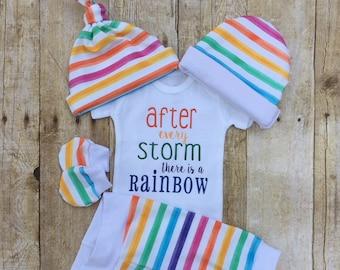 1e0dfc4c7c4 Rainbow Baby Shower Gift