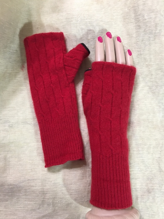 Cashmere Gifts for Women Gifts for teens Arm Warmers Cashmere Wrist Warmers Fingerless Mittens Wrist Warmers Women/'s Wrist Warmers